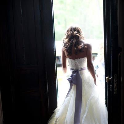Photo: Straight out of our wedding loving dreams... Photography By / Meredith Davenport of Christian Oth Studio Dress By / Vera Wang http://www.stylemepretty.com/2012/08/13/grasmere-farm-wedding-from-charmed-places-christian-oth-studio/