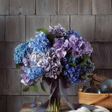 "Photo: Is this bouquet your ""Something Blue"" style?"